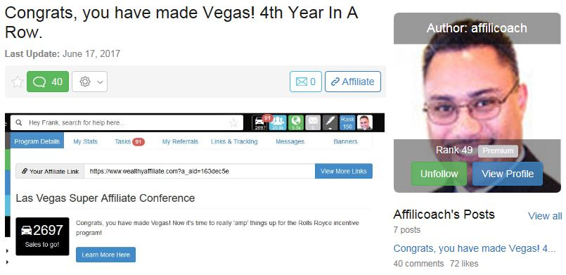 Congrats You Made Vegas 4th Year