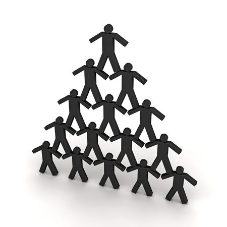 Human Pyramid Scheme