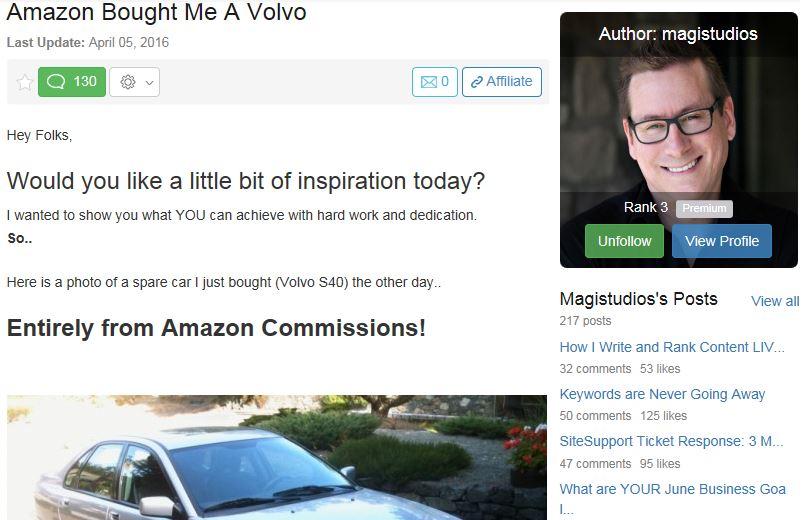 Magistudios Volvo