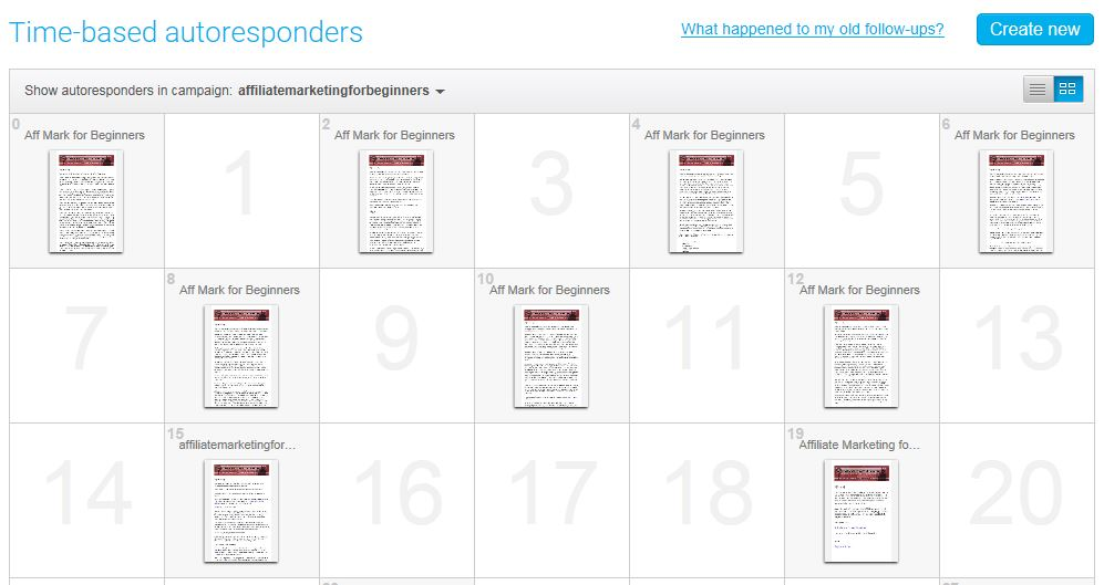 getresponse time based autoresponder example many income streamsgetresponse time based autoresponder example