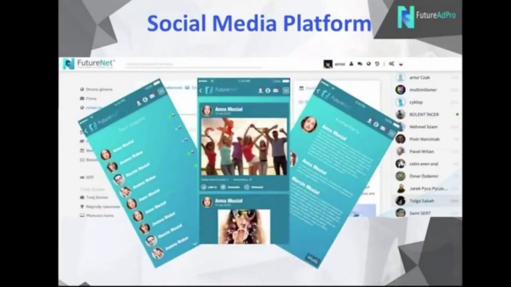 Futurenet Club Social Media Platform