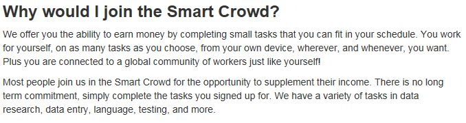 Is Smart Crowd a Scam? Do These Work At Home Jobs Pay Enough? - Many
