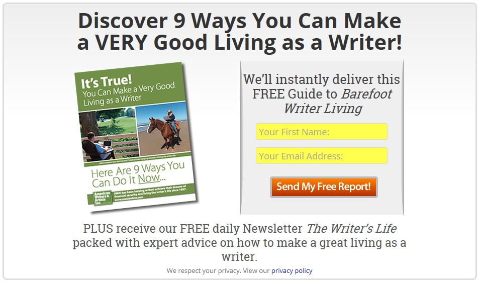 Is barefoot writer a scam or live the true laptop lifestyle many barefoot writer free guide malvernweather Images