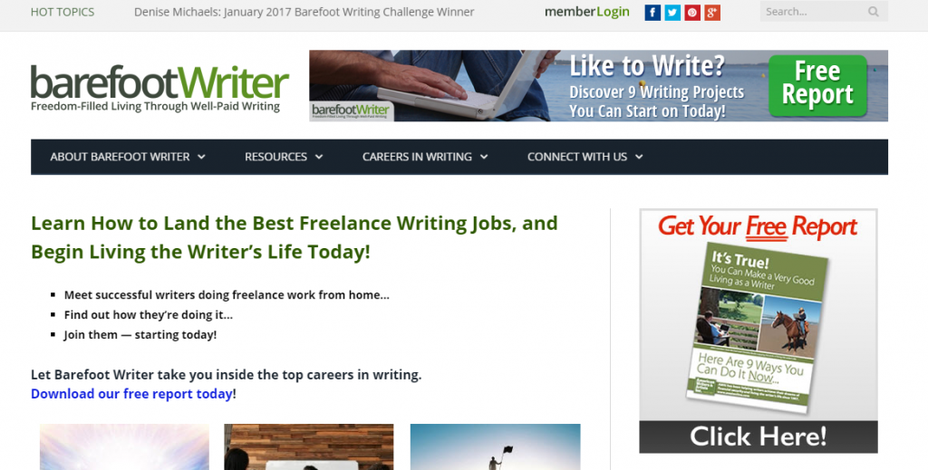 Is barefoot writer a scam or live the true laptop lifestyle many is barefoot writer a scam malvernweather Image collections