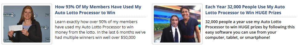 Auto Lotto Processor Testimonials
