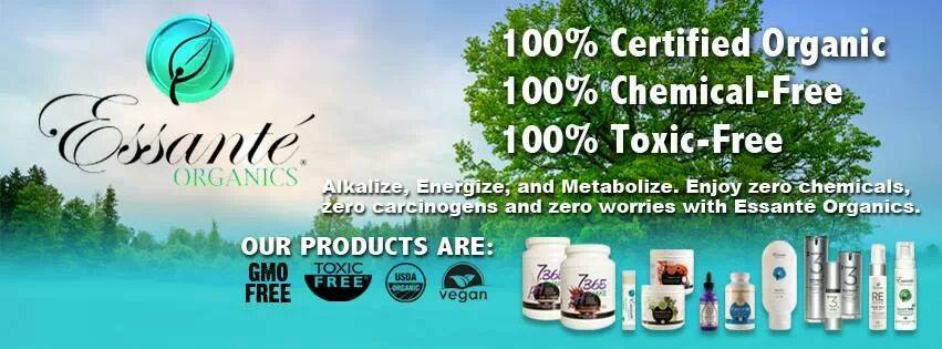 Essante Organics Banner