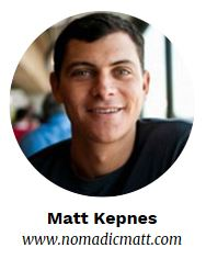 Matt Kepnes - Nomadic Matt