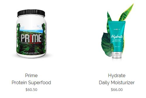 Prime My Body Products