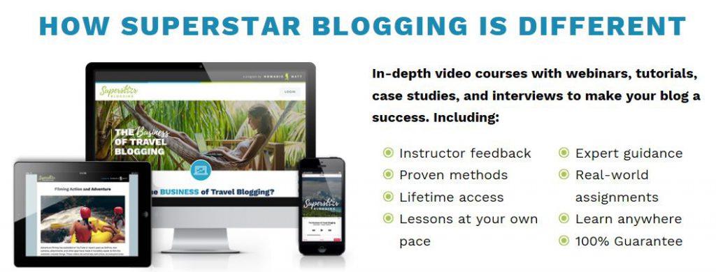 Superstar Blogger Course