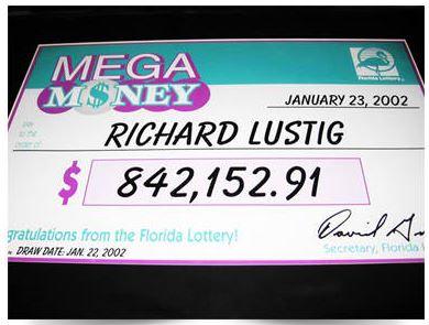 Richard Lustig Mega Money Lottery