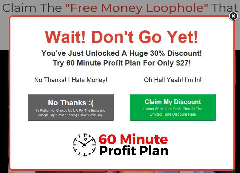 60 Minute Profit Plan Discount