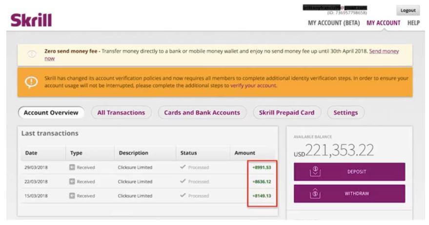 60 Minute Profit Plan Payment Proof