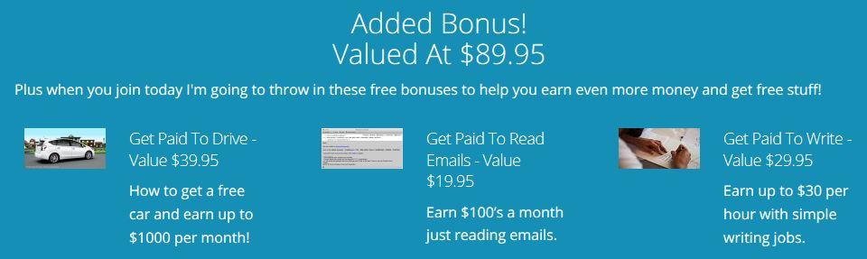 Paid Social Media Jobs Bonuses