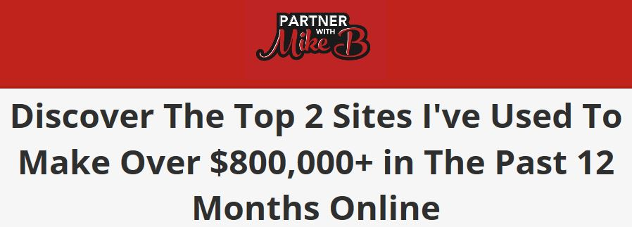 Partner With Mike B Pitch
