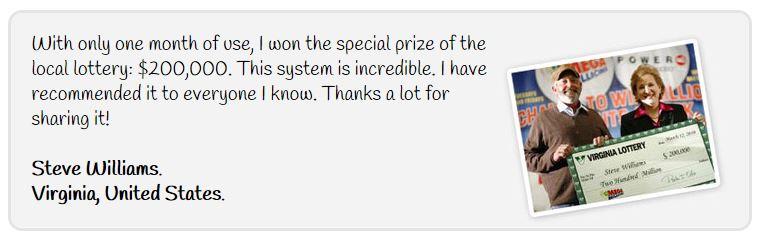 Win the Lottery Method Testimonial