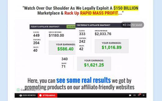 Cash Money Sites Income
